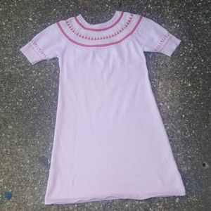 Lilly Pulitzer Pink Girls Wool Dress Youth 14